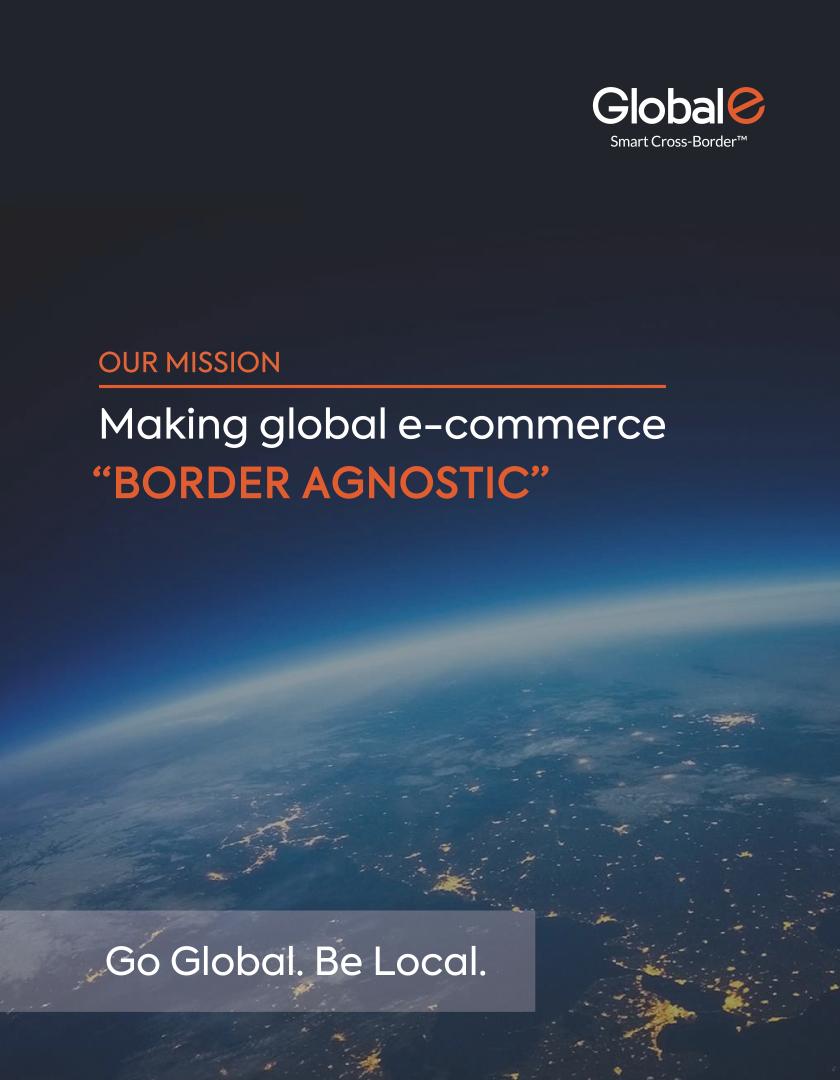 SEC Filing   Global E online Ltd