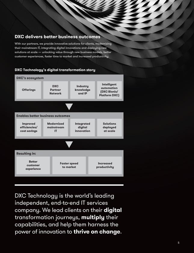 SEC Filing   DXC Technology